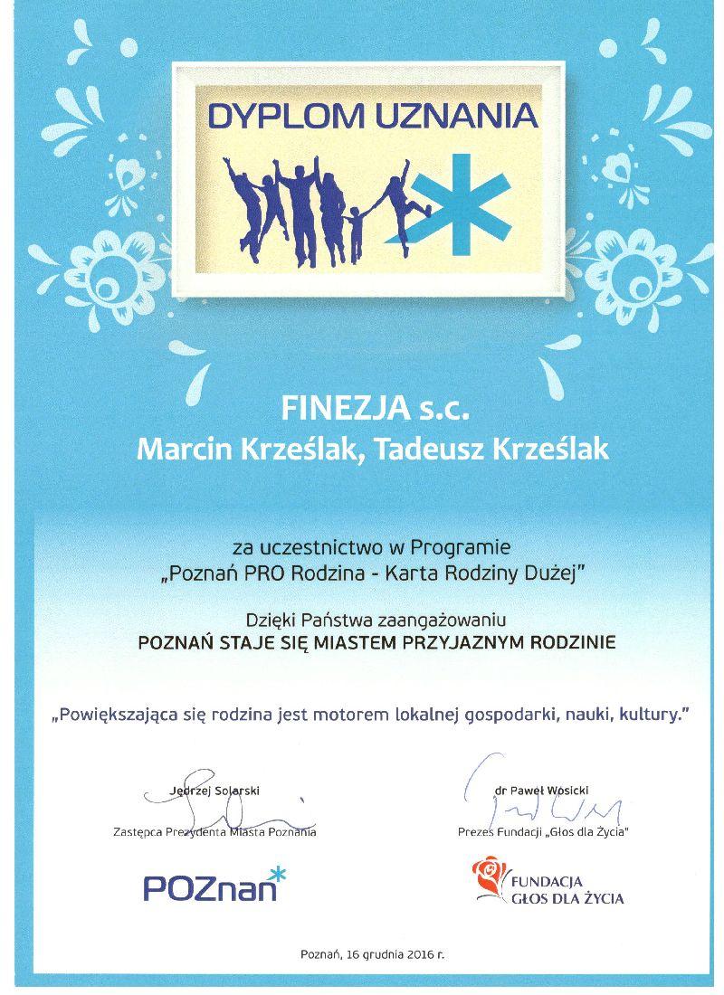 III Gala Partnerów Programu Poznań PRO Rodzina - Karta Rodziny Dużej.